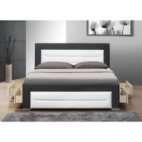 Manželská postel NAVI s roštem, výběr rozměrů