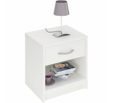 Noční stolek BIBI bílá