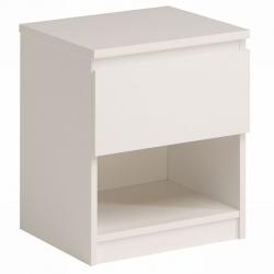 Noční stolek Doble - bílý