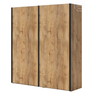 Šatní skříň s posuvnými dveřmi KARBON Komfort