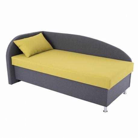 Čalouněná postel AVA Navi 120x200cm - výběr potahů