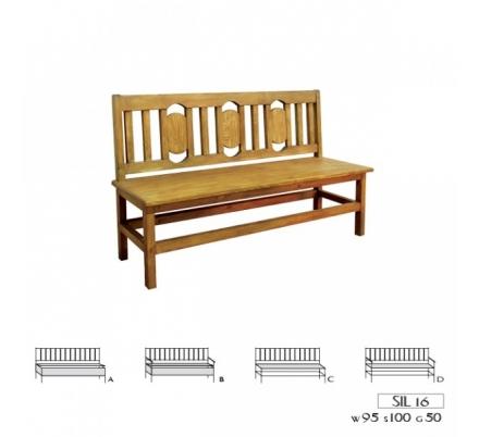 Jídelní lavice 016 - selský nábytek