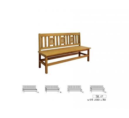 Jídelní lavice 017 - selský nábytek