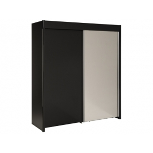 Šatní skříň Simple - černá