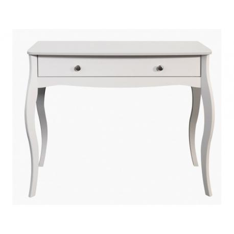 Toaletní stolek Baroko - bílá