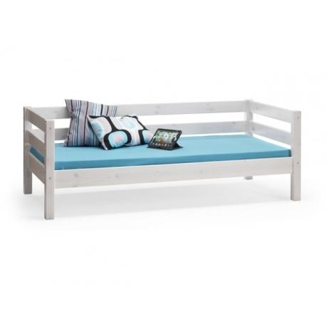 Dětská postel Alois 90x200cm - masiv/bílá