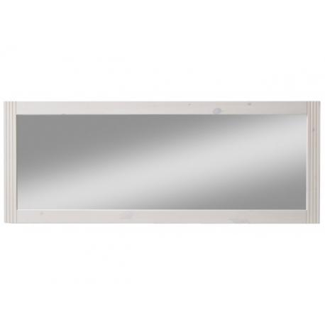 Zrcadlo Moris - bílá