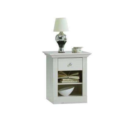 Noční stolek Moris - bílá