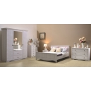 Ložnice Christi - bílá (postel bez čela)