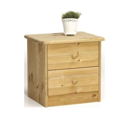 Noční stolek Manka - masiv/olejovaný