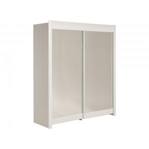 Šatní skříň Clea 180 - bílá