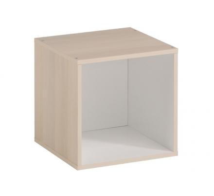 Regál/box Cupio - akácie/bílá