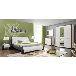 Čalouněná postel NALA s roštem - výběr rozměrů
