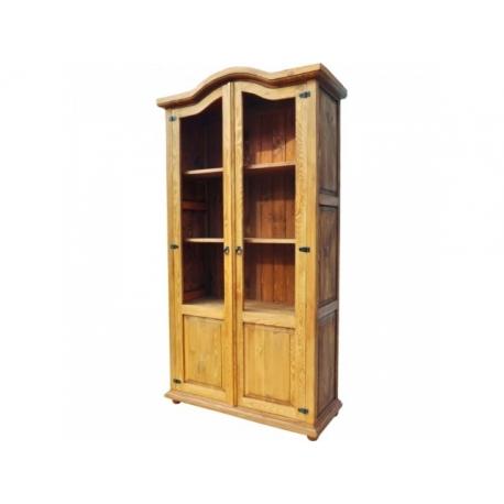 Rustikální vitrína VIT 12 - selský nábytek