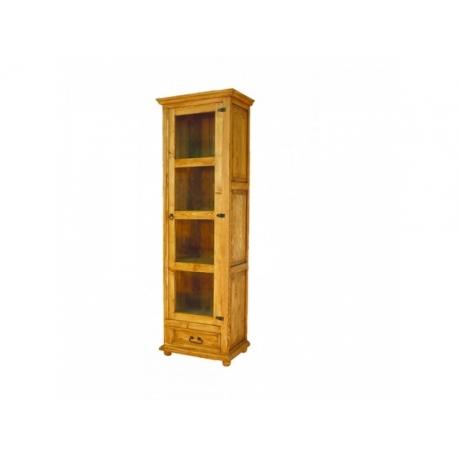 Rustikální vitrína VIT 16 - selský nábytek