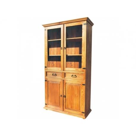 Rustikální vitrína VIT 13 - selský nábytek