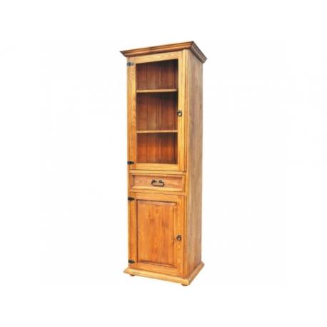 Rustikální vitrína VIT 15 - selský nábytek