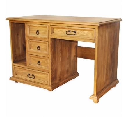 Psací stůl z masivu 06 - selský nábytek