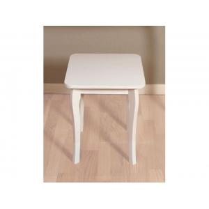 Stolička Baroko - bílá