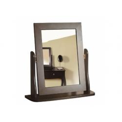 Zrcadlo Baroko - černo/hnědá