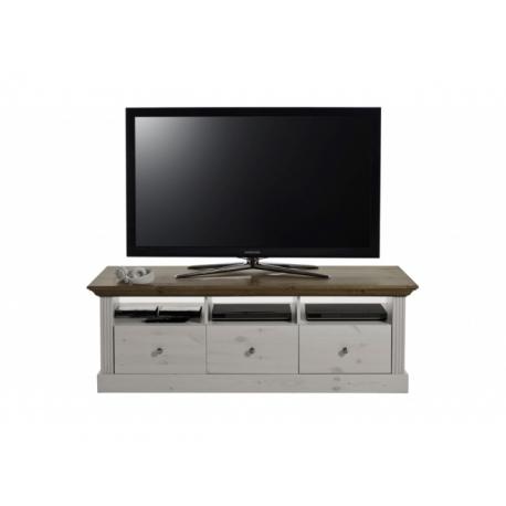 Televizní stolek Moris - bílá/provence