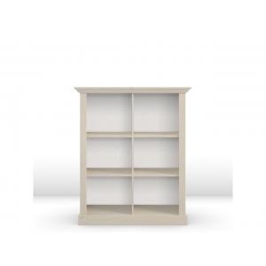 Knihovna Moris - bílá STE