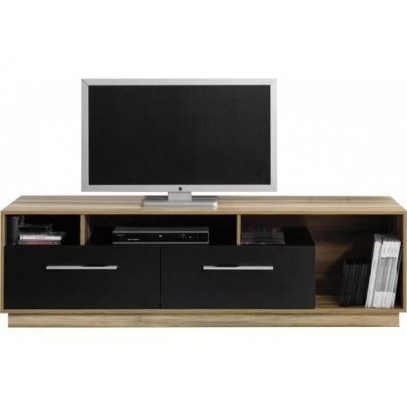 Televizní stolek Moon 7 - ořech baltimore/černá