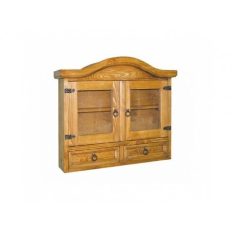 Rustikální závěsná skříňka COS 07 - selský nábytek