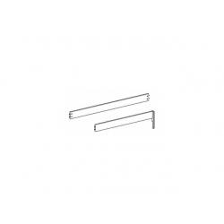 Zábrana k jednolůžku Dash - bílá