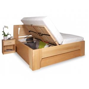 Manželská postel s úložným prostorem Olympia 1