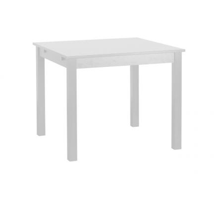 Jídelní stůl čtverec Nora - bílá