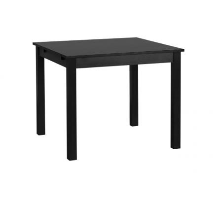 Jídelní stůl čtverec Nora - černá