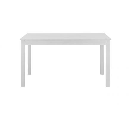 Jídelní stůl obdélníkový Nora - bílá