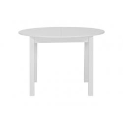 Jídelní stůl kulatý Nora - bílá