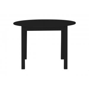 Jídelní stůl kulatý Nora - černá