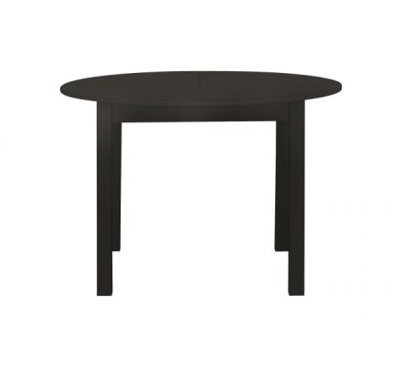Jídelní stůl kulatý Nora - tmavě hnědá