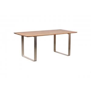 Jídelní stůl Solte - masiv/kov PA