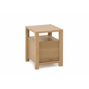 Noční stolek Ronny - dubová dýha