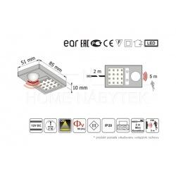LED osvětlení se senzorem TA-01