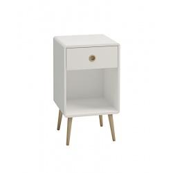 Noční stolek Sofie - bílý