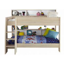Dětská patrová postel Boob - světlá akácie