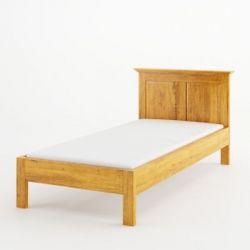 Postel z masivu 01 - 90x200cm - selský nábytek