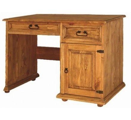 Psací stůl z masivu 01 - selský nábytek
