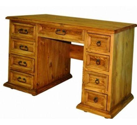 Psací stůl z masivu 04 - selský nábytek