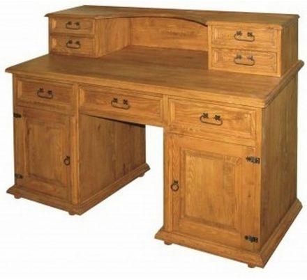 Psací stůl z masivu 05 - selský nábytek