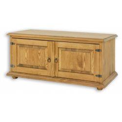Televizní stolek z masivu 01 - selský nábytek