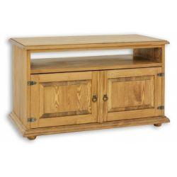 Televizní stolek z masivu 02 - selský nábytek