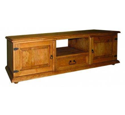 Televizní stolek z masivu 03 - selský nábytek