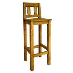 Barová židle z masivu 10 - výběr moření
