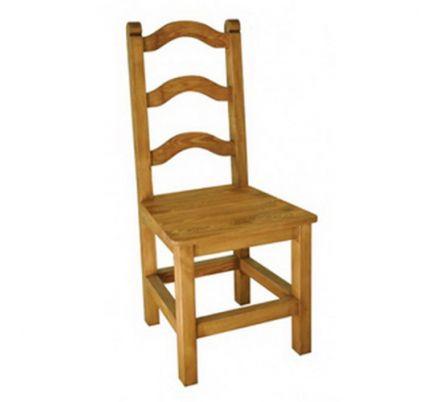 Jídelní židle z masivu 01 - selský nábytek